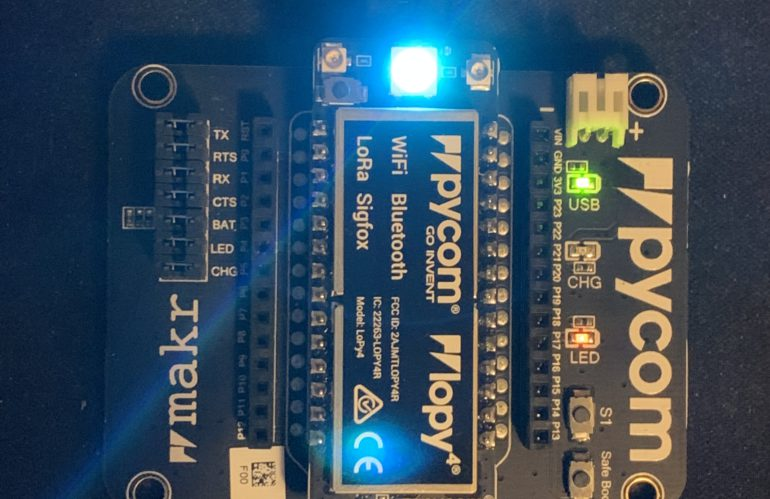 Building an iOS app to talk to a Pycom development board via Bluetooth